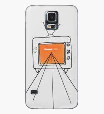 Kanal orange Hülle & Klebefolie für Samsung Galaxy