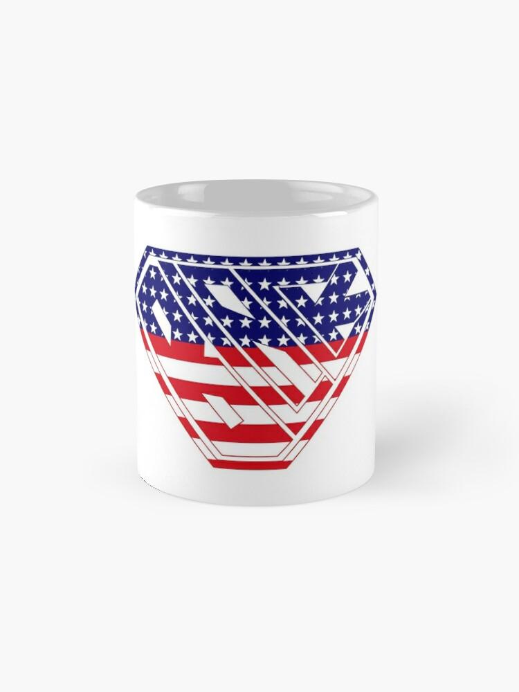 Alternate view of Black SuperEmpowered (U.S.A.) Mugs