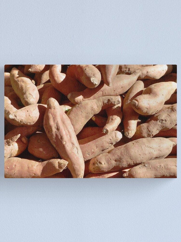 Alternate view of Food - sweet potatoes Canvas Print