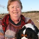 Cathie(photographer) & her Cavalier King Charles Terrior, Darling by Cathie Brooker