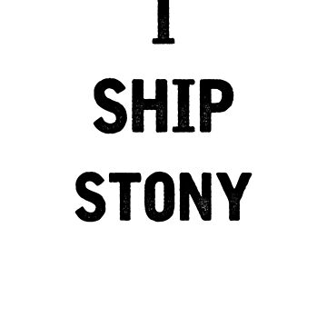 I Ship Stony by julia1798