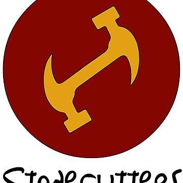 Stonecutters secret handshake shirt by Llamarama13