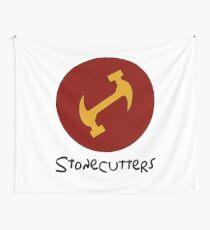 Tela decorativa Camisa de apretón de manos secreto de Stonecutters