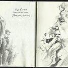 Sketchbook, Tube Riders by Cameron Hampton