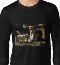 fd9ded90b267 Camiseta de manga larga Matthijs Maris Conociendo (La cabra pequeña)