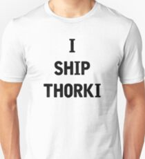 I Ship Thorki Unisex T-Shirt