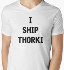 I Ship Thorki Men's V-Neck T-Shirt