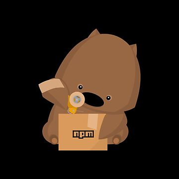 NPM: Wombat's delivery (Black) by hellkni9ht
