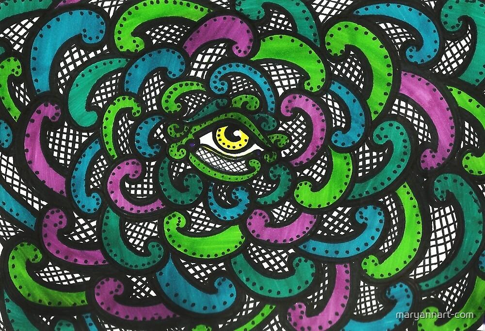 Net Eye by maryannart-com