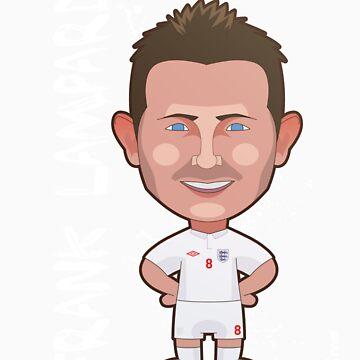 Frank Lampard World Cup England by alexsantalo