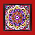 buntes Mandala by danielasabina