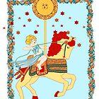 The Tarot Sun  by redqueenself