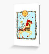 The Tarot Sun  Greeting Card