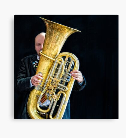 Mnozil Brass - Wilfried Brandstötter Canvas Print