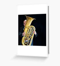 Mnozil Brass - Wilfried Brandstötter Greeting Card