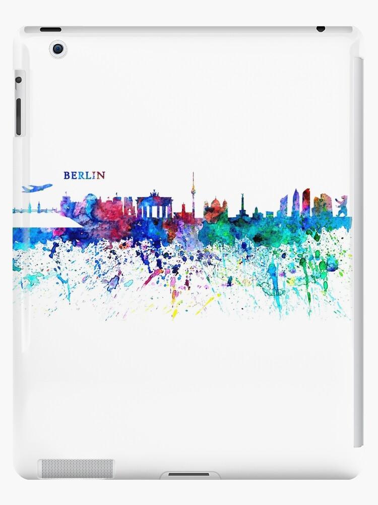 Berlin  Germany abstrakte Skyline   von artshop77