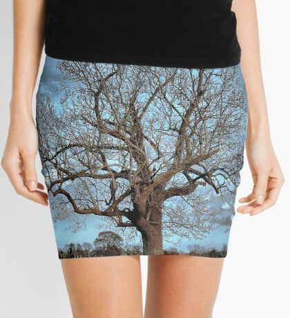 Barely December Mini Skirt