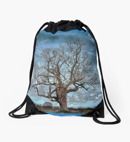 Barely December Drawstring Bag