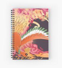 Ho-Oh (Okami Inspired) Spiral Notebook