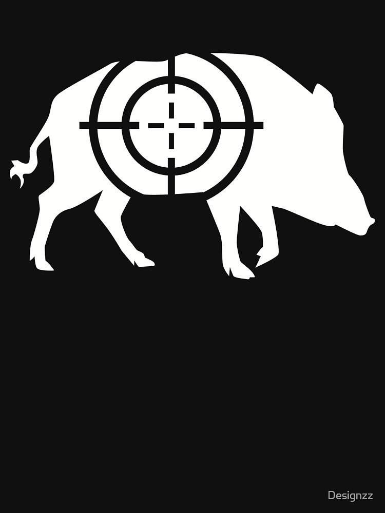 Wild boar crosshairs by Designzz