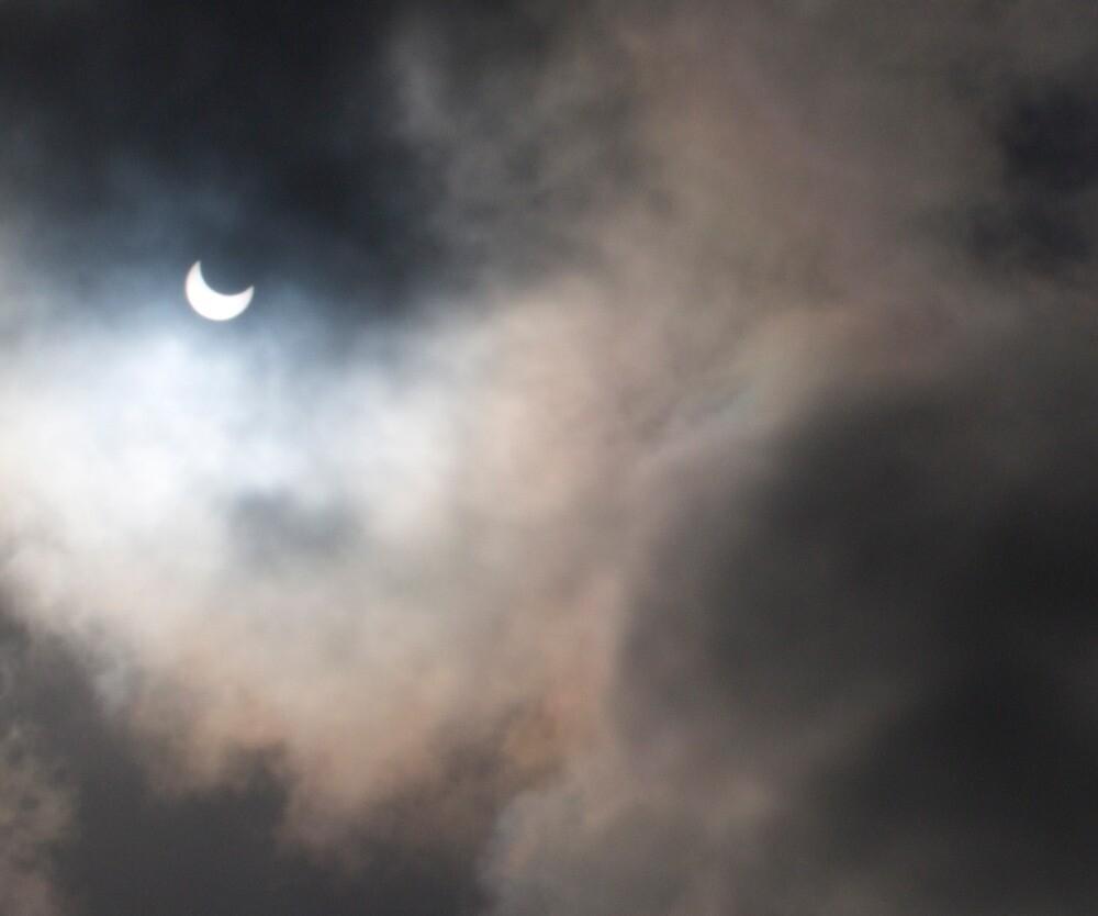 Partial solar eclipse over Cape Town by davridan