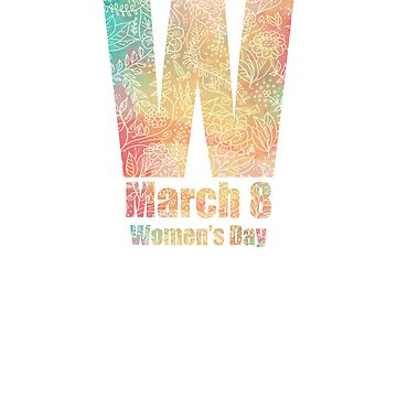 Women's Day March 8 by kihei-design