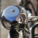 Big bike bell (and me) by Marjolein Katsma