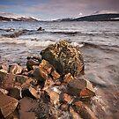 Loch Rannoch and Schiehallion by Phillip Dove