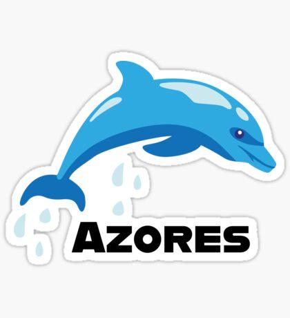 Delphin Delfin Azoren Sticker