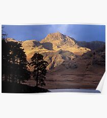 Harrison Stickle Lake District Poster