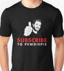 Abonniere Pewdiepie Unisex T-Shirt