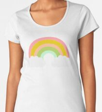 Rainbow Premium Scoop T-Shirt