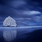 Haystack Rock by Mark Bauschke