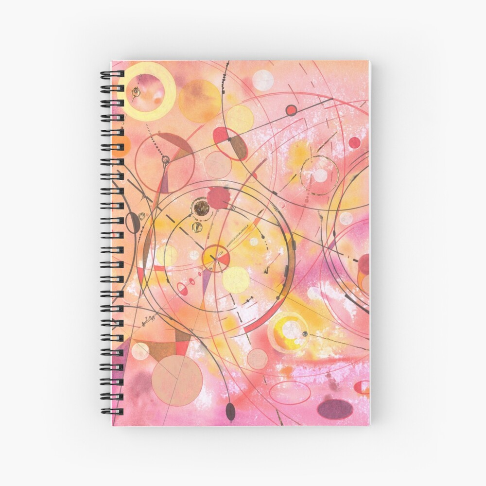 A rounded View Spiral Notebook