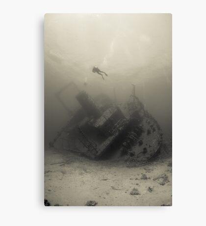 Ghiannis D wreck Canvas Print