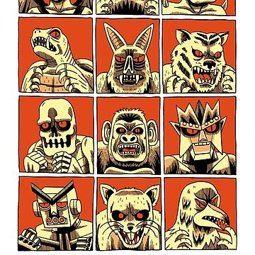 SELECT FIGHTING MONSTER by jackteagle