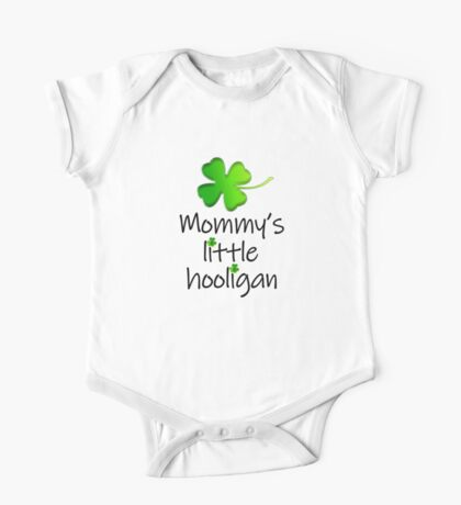 Mommy's Little Hooligan Kids Clothes