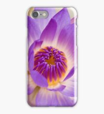 Shining Thru - purple waterlilly iPhone Case/Skin