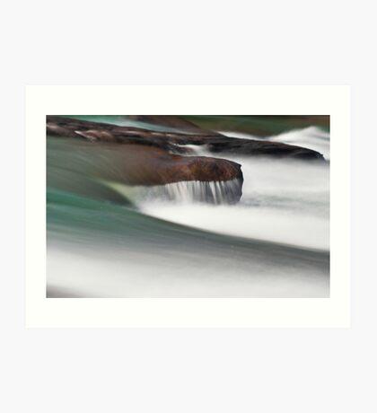 Arden Falls: Brush Strokes Art Print