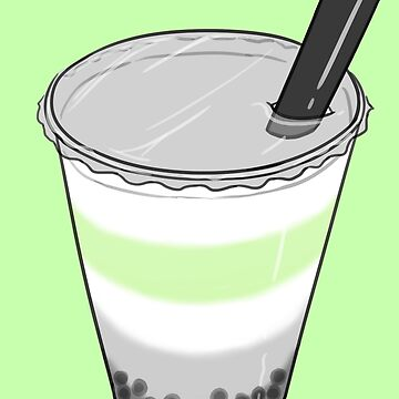 Agender Pride Bubble Milk Tea by JNNardacci