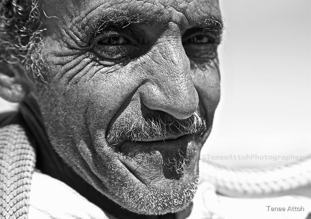 Desert  face by Tenee Attoh