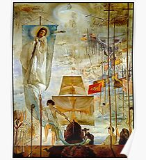 CHRISTOPHER COLUMBUS: Vintage 1958 Discovery of America von Dali Poster