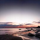 Polkerris Bay Panorama by Richard Horsfield