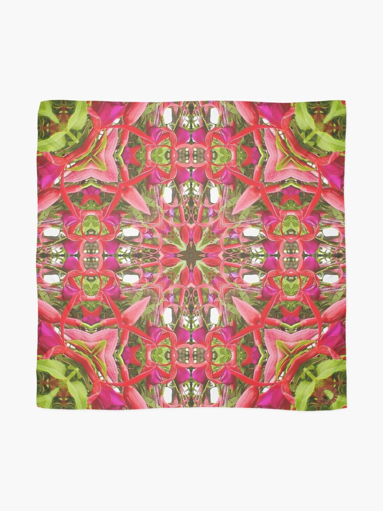 Alternate view of D1G1TAL-M00DZ ~ FLORAL ~ Hanging Fuchsia 1 by tasmanianartist 310119 Scarf