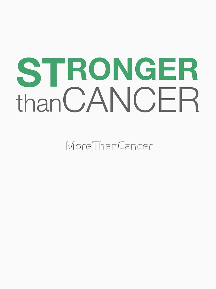 Stronger Than Cancer website logo by MoreThanCancer