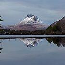 Stac Pollaidh Winter Reflections by derekbeattie