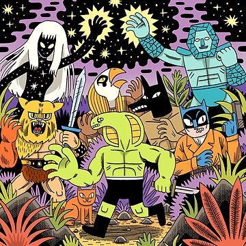 COSMIC WARRIORS by jackteagle