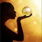 Golden Orb by Kym Howard