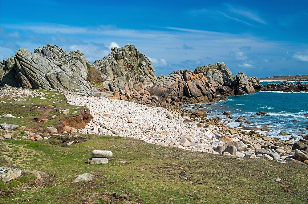St Agnes Coastline  by Nick Jenkins