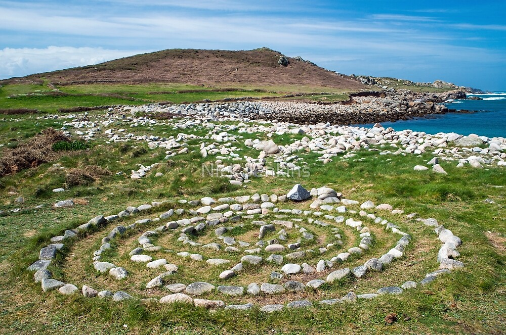 Stone Ring on Bryher by Nick Jenkins